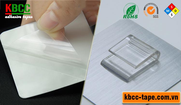 Móc dán tường KBCC-K109 siêu, móc treo chổi lau nhà kbcc-tape