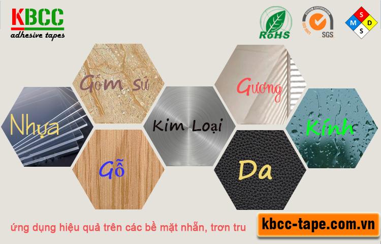 Móc dán tường KBCC-K103 chịu lực tốt, siêu dính, tái sử dụng nhiều lần kbcc-tape