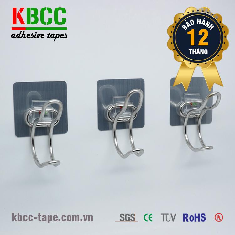 Móc dán tường KBCC-K102 dính bền bỉ, chịu lực tốt, thân thiện với môi trường kbcc-tape