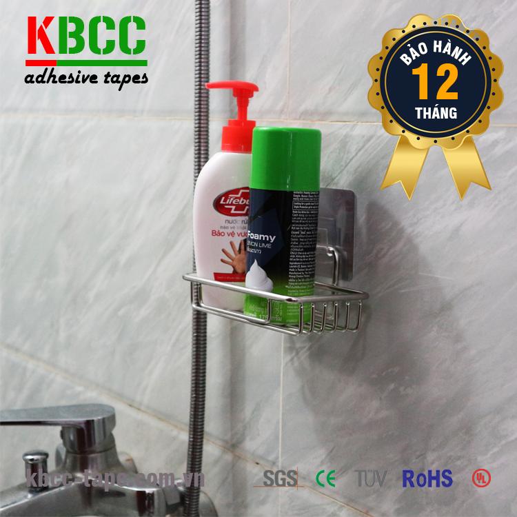 Kệ Xà Bông Dán Tường Nhà Tắm KBCC-K201 Chống Nước