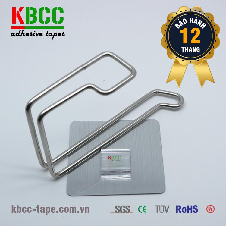 Móc Treo Cuộn Giấy Dán Tường KBCC-K202 Đa Năng
