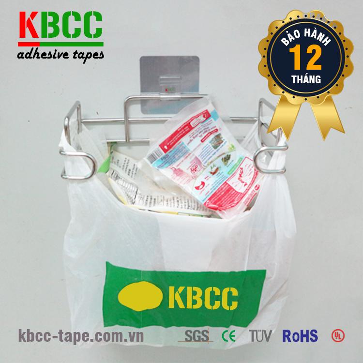 Giá Treo Túi Đựng Rác Dán Tường Siêu Dính KBCC-K205 Chịu Lực