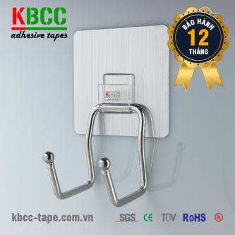 Móc dán tường KBCC-K106 công nghệ Nano dính liền mạch, không để lại dấu vết khi tháo rời kbcc-tape